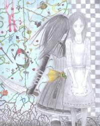 Fanart: Madness returns (color) by TetsuiArikado