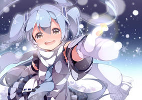 SNOW MIKU by U35