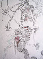 Avoidant and Parasite WIP by Lucianomie