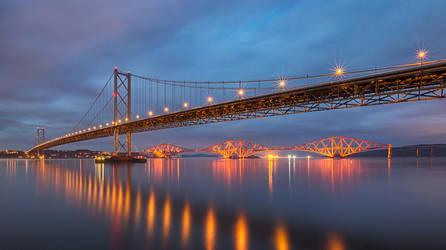 Forth Bridges by KlikitiKlik