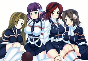 lost dimension females tied up by HandsofMidaz
