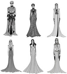 Game of Thrones Season 2 Women's Costumes by cabins