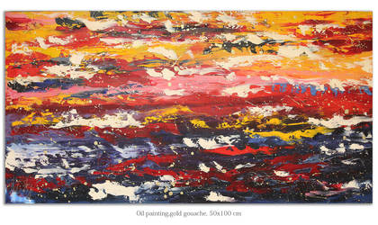 Abstract oil by Ifispirit
