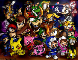 Super Smash Bros. by conkerncrash