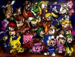 Super Smash Bros. by conkerncrash