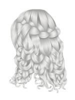 Fantasy Winter Hair 1 by hellonlegs