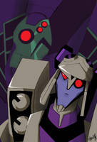 Lugnut and Blitzwing by ShianMoonites