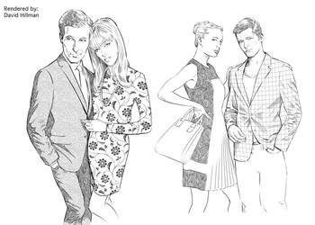 Couples Fashion by HillmanArts
