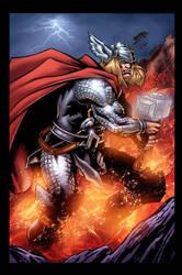 Thor Color by HillmanArts