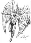 Hawkman revisited by HillmanArts