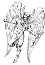 Hawk Man commission by HillmanArts