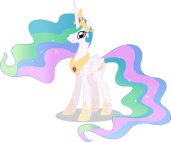 Princess Celestia Vector #01 by simplyFeatherbrain