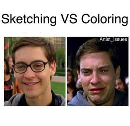 Differences in art styles by jdicarlo