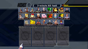 Smash Bros Meemee Roster by jdicarlo