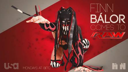 Finn Balor FanMade Debut Teaser Wallpaper by HTN4ever