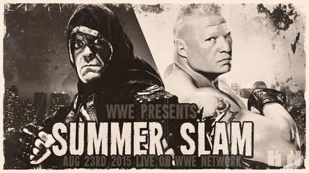 WWE SummerSlam 2015 Custom Wallpaper by HTN4ever