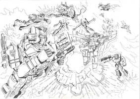Happy 30th Birthday Transformers by JoeTeanby