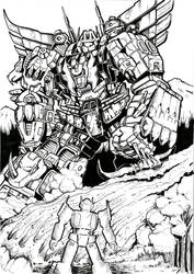 Prime v Predaking by JoeTeanby