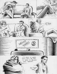 Roommates 437 - TV Therapy by AsheRhyder