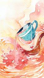 Milk Tea by Menstos