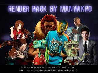 Pack de Renders 2 By me by Manyakpo