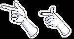 F2u Pixel Finger Guns by AlaskanCat