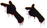 F2u Pixel Finger Guns Vers 3 by AlaskanCat