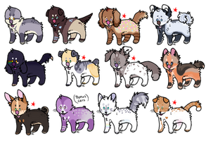 Pup Adopts OPEN by AlaskanCat