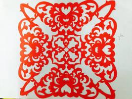 Chinese papercutting by yiinlinnnnn