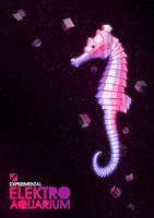 Elektro Aquarium - seahorse by Un-divine