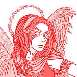 Kerubi Portrait by Egek