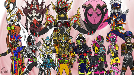 Thank You For Playing, Ex-aid by piplupm