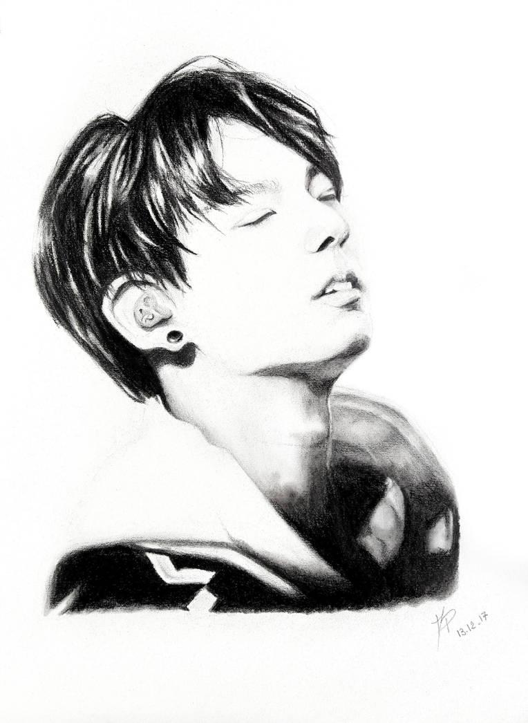 Jungkook Bts Drawings: Jungkook [BTS] By MP-draw On DeviantArt