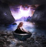 Magic Lake by chipmunksky