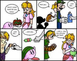 Kirby's mad deception skills by Hail-NekoYasha