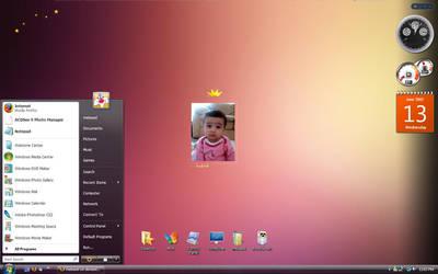 My Fatima Vista Desktop by mekaeel