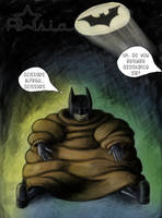 Batman's New Sweater by Astarsia