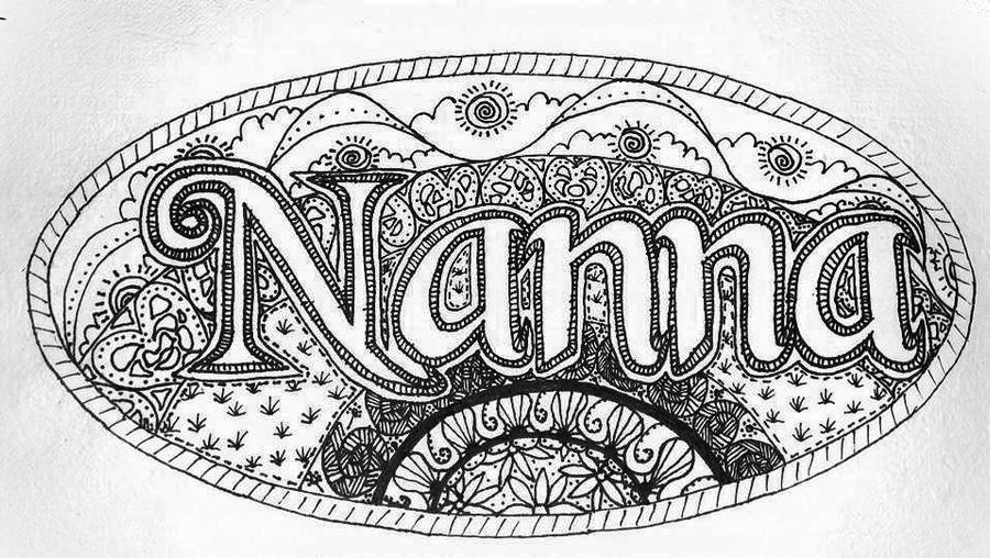 Nanna's placemat by Astarsia