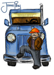 Billy The Truck Driver by Astarsia