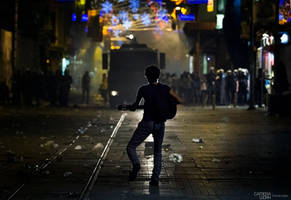 Love and Revolution... Occupy Istanbul... by kemalan