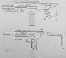 Weapons of the USN: Submachine Guns 2 (Project A) by AngelOfNope