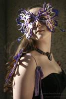 Gossamer fairy mask by Beadmask