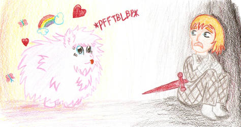Keane Euodias Meets Fluffle Puff by TheLordofPies