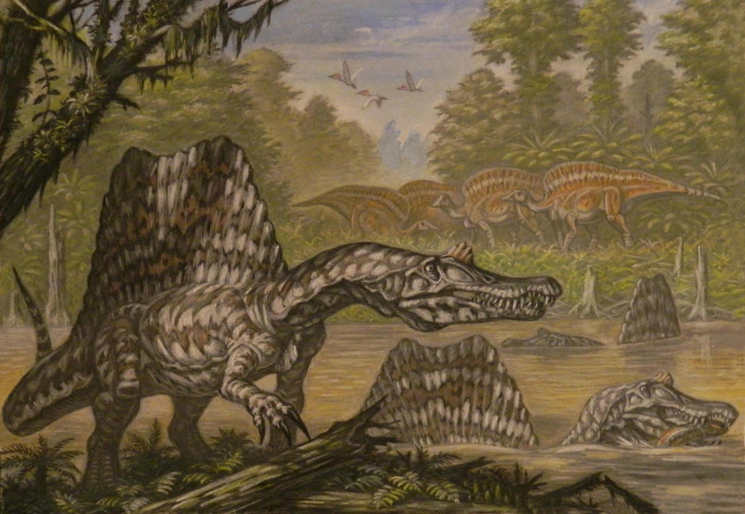 Spinosaurus aegyptiacus. by ABelov2014