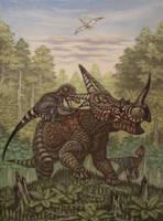 Rubeosaurus ovatus. by ABelov2014