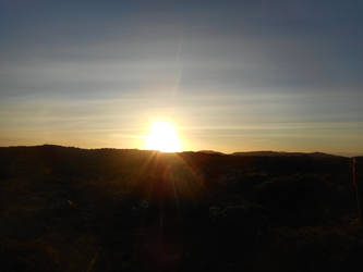 Sunset on the Mountain by GreenEggsAndHam1998