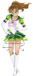 Sailor Jupiter by MeganElf