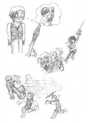 RE-Random Sketches by Pooky-di-Bear