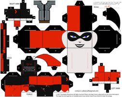 Harley Quinn Cubee by Da-BEv