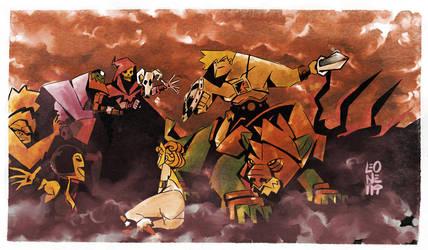 He-Man by Pe-u